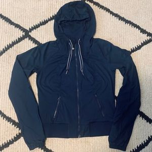 Lululemon Dark Navy Jacket/Sweater Size 6